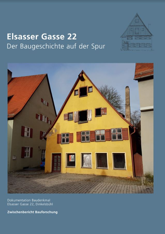 """*NEU* Broschüre """"Elsasser Gasse"""" - Der Baugeschichte auf der Spur"""